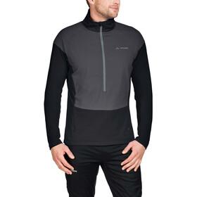 VAUDE Bormio Half Zip Hybrid Pullover Herre black